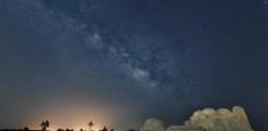 مجرة درب التبانة في سماء تونس