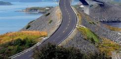 أغرب طريق في العالم في النرويج
