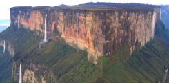 اكبر قمة جبلية مسطحة في العالم - جبل رورايما