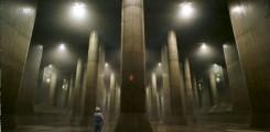 مشروع ضخم للسيطره على مياه الفيضانات في طوكي