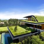 تصميمات معمارية صديقة للبيئة بشكل كبير