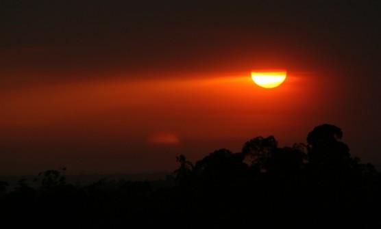 اجمل اللوحات الفنية لغروب الشمس في ولاية كاليفورنيا