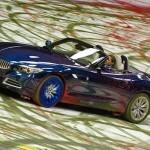 الابداع في الاعلانات,إعلان سيارة الزد فور من بي إم دبليو