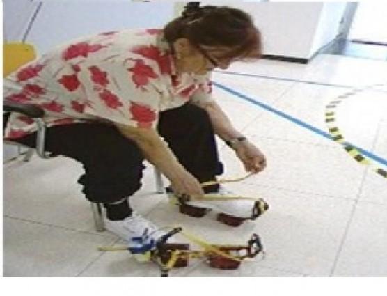 تصميم حذاء جديد لكبار السن مذودة بأجهزة تحكم