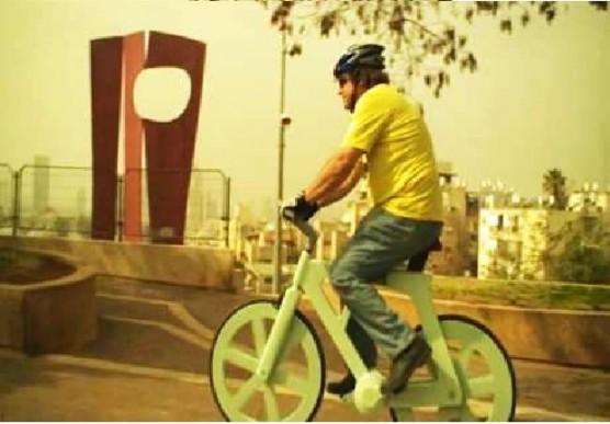 دراجة صممت خصيصا كي تكون صديقة للبيئة