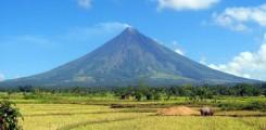 بركان مايون أجمل بركان في الفلبين