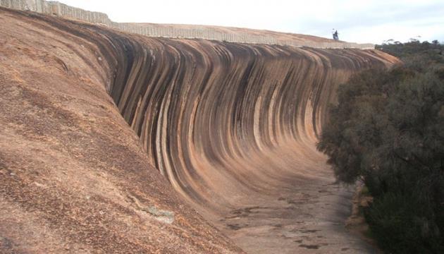 أمواج الصخورحقيقة وليست خيالاً
