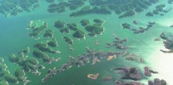 بحيرة كيندو بحيرة الألف جزيرة