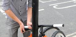 تصميم لدراجة غريبة قابلة للطي